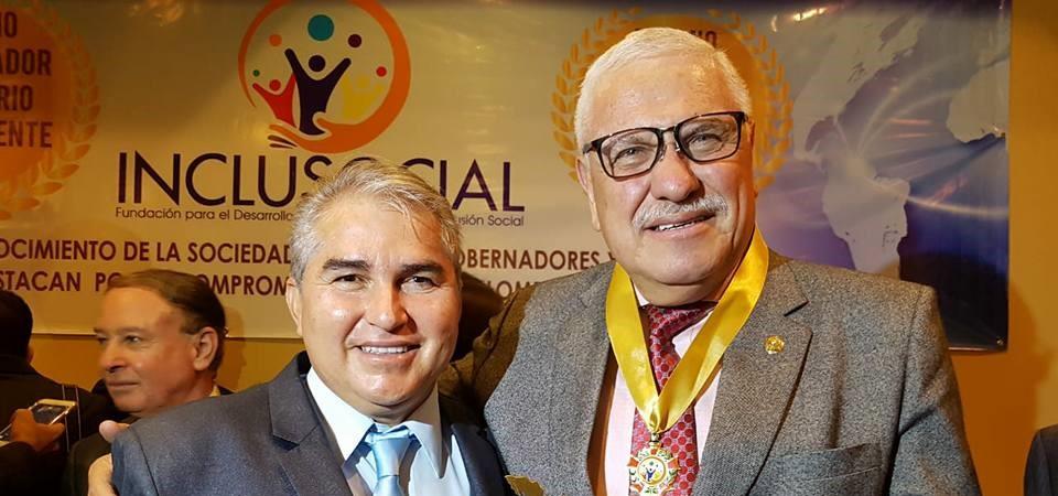 Marcelo Cabrera, Alcalde de Cuenca (Ecuador) 2018.