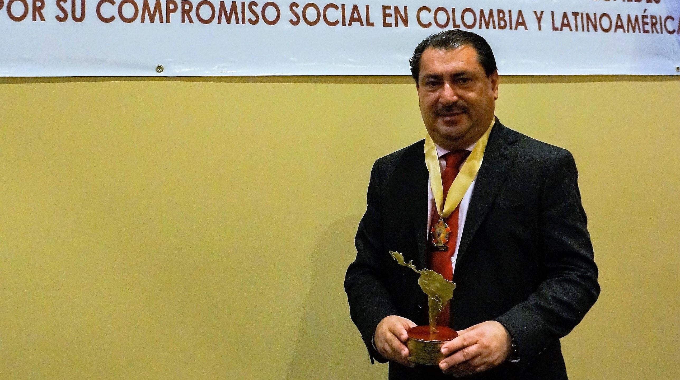 Allan David Ramos Molina, Alcalde de Puerto Cortés (Honduras) 2018.