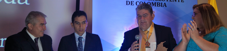 """Jaime Arenas Rueda, recibió el premio """"Alcalde Solidario e Incluyente de  Colombia 2019"""""""