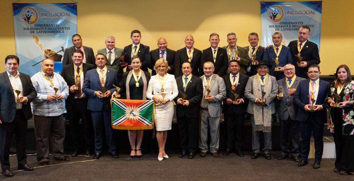 Ganadores de los premios a la Solidaridad y la Inclusiòn Social de Latinoamèrica 2019