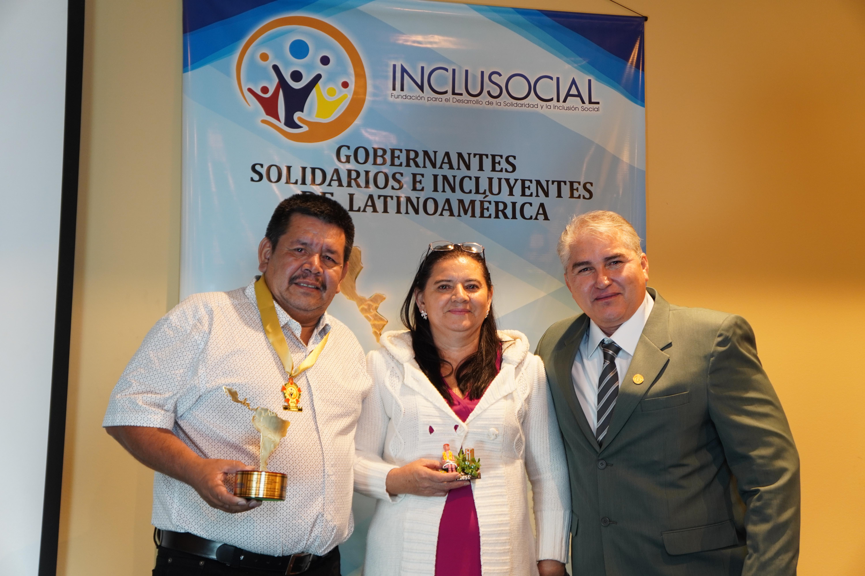 José Antonio Martínez Salazar, recibe el premio Alcalde Solidario e Incluyente de Latinoamérica 2019