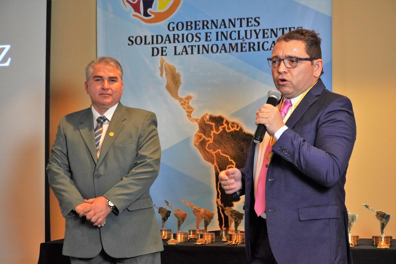 """Rafael Alejandro Martínez recibió el premio """"Alcalde Solidario e Incluyente de Latinoamérica 2019″"""
