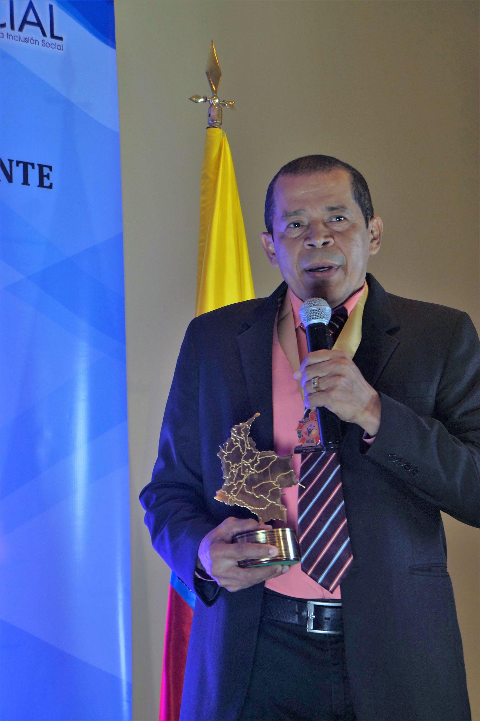 José Ignacio Gómez recibió el premio «Alcalde Solidario e Incluyente de Colombia 2019»